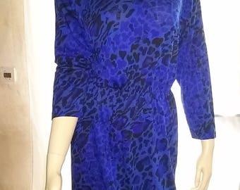 Women's dress by Liola (made in Italy)-Gr. 40 of fine wool