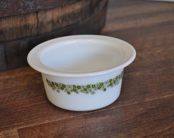 Pyrex Corning Spring Blossom Butter Margarine Dish 75 - Crazy Daisy