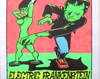 Electric Frankenstein  @ The Bluebird Theatre
