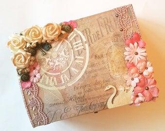 Wedding keepsake box   Etsy