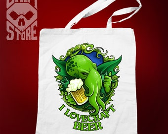 Eco bag, tote I Lovecraft Beer