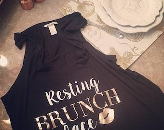 Resting Brunch Face shirt
