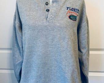 Vintage University of Florida Gators Sweater