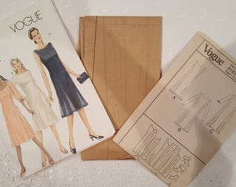 Vogue V8183 ~  Vogue Princess Seamed Dress ~ Size: G 20 22 24 ~ 2006 ~  Pattern ~ Uncut Sewing Pattern ~ GRTLPAT  8183