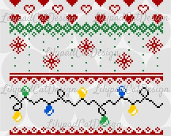 Christmas Holiday Sweater SVG, PNG, DXF. Christmas svg, christmas png, holiday sweater svg, ugly christmas sweater svg, holiday sweater png