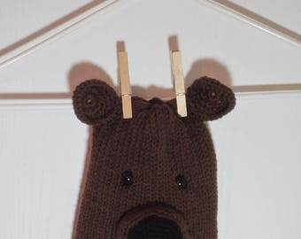 """Baby/Toddler Beanie Hat Featuring """"Nugget"""" the Labrador Retriever"""