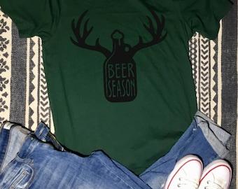 Beer Season Growler Shirt
