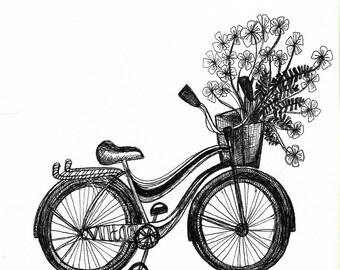 Printable Vintage Bicycle
