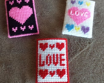 Handmade Finished Valentine's Day Gift Card Holders