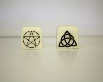 Wiccan Candle Set | Meditation, Ritual, Devotional Candles