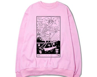 PINK SWEATER - DEATH