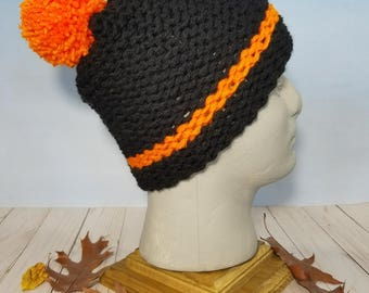 San Francisco Giants Hand Knit Hat, Beanie or Slouchy- SF-019
