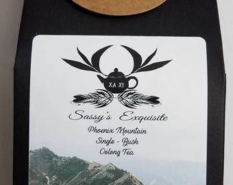Phoenix Mountain Wu Dong Oolong Tea