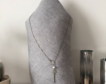 Geo necklace without clasp