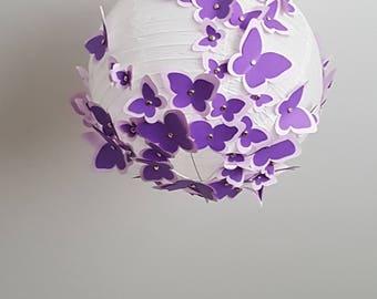 Suspending lighting butterflies