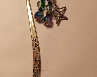 Galaxy Metal Bookmark