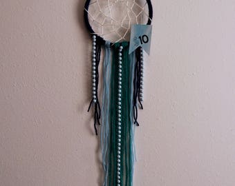 Blue Dream Catcher with Beads