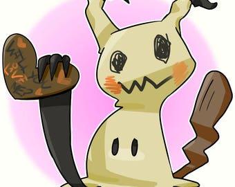 Pokemon Print | Mimikyu