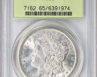 1885-O PCGS MS65