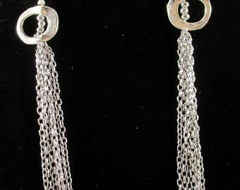 Sumptuous Silver Earring