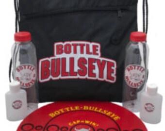 The Best Bottle Flipping Game Ever!!! Bottle Bullseye
