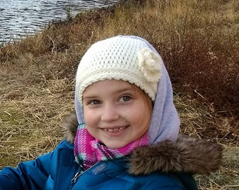 Adorable Crochet Hat (Handmade by Grandma!)
