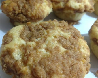 Coffee Cake Cupcakes
