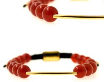 Baluya Red Agate (bracelet)
