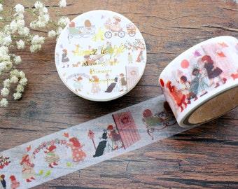 Aimez le Style Washi Tape - Kindergarten, Masking Tape, Scrapbooking, Childhood, Planner Supplies