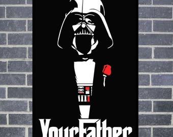 Darth Vader Wall Canvas