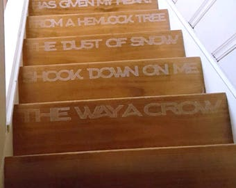 Robert Frost Staircase Poem