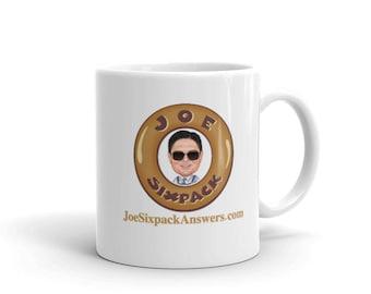 Joe Sixpack Coffee Mug Brown
