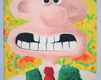 Wallace and Gromit Paintings