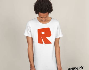 Roblox R T-shirt Image, Instant Download, Printable Sticker, Iron on transfer, Digital File, Gift