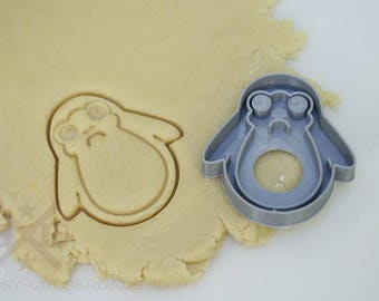 Porg cookie cutter, porg gift, cookie cutter, Porg, fondant, Star Wars, porgs, SW, Last Jedi, Star Wars gift, 3d printed, birthday gift,