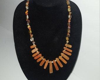 Red Avertine and Carnelian gemstones