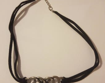 Charm corded necklace