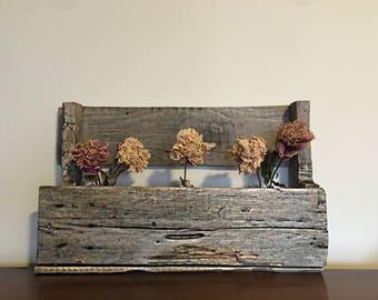 Reclaimed Wood Mid-Sized Bookshelf