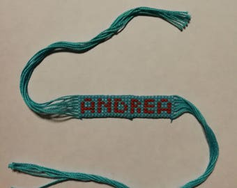 "Bracelet with the name ""ANDREA"""
