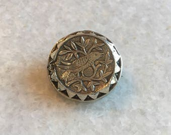 Victorian Sweetheart Mourning Brooch