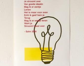 Poems Poster ' Borrow '