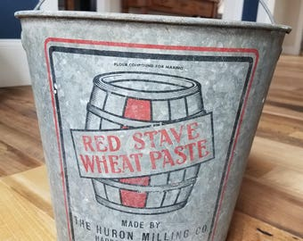 Advertising Galvanized Bucket with Handle