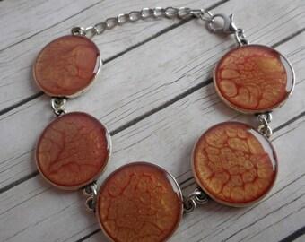 Orange bracelet vintage