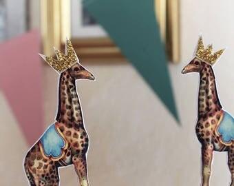 CAKE TOPPER Giraffe