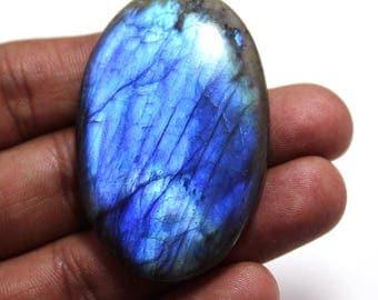 108.10cts Natural Multi flash Labradorite oval  52x34x7 mm Labradorite loose gemstone amazing & beautifull Labradorite nice flash AA-38