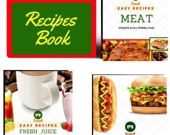 3 in One Recipes Book