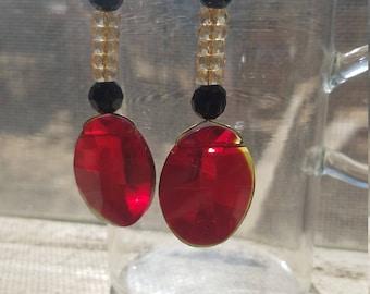 Ruby Pollyanna Earrings