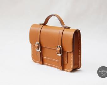 doll_satchel bag_genuine leather_3colors