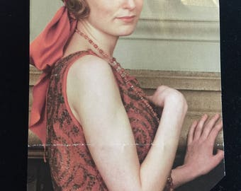 """Downton Abbey """"Lady Edith""""  Beaded Necklace"""