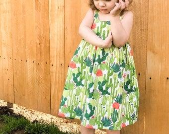 Cactus Happy-go-lucky Summer dress
